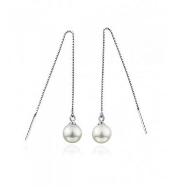 Liuanan Sterling Threader Elegant Earrings