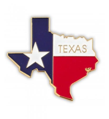 PinMarts State Shape Texas Lapel