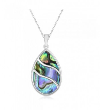 Beaux Bijoux Sterling Natural Teardrop