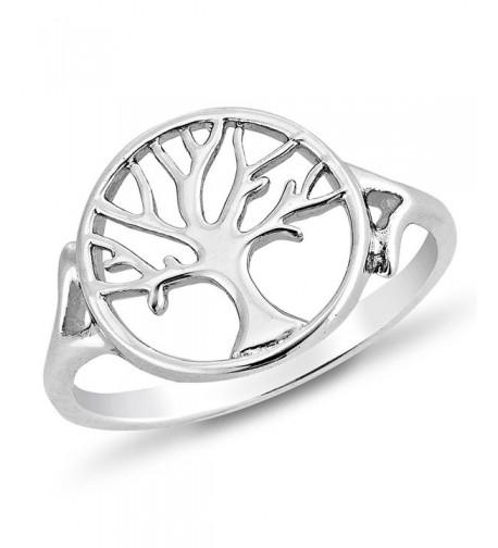 Sterling Silver Filigree Symbol Round