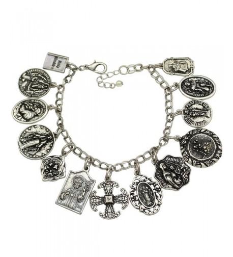 Vintage Fashion Catholic Religious Bracelet