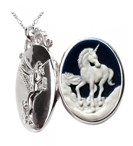 Unicorn Necklace Pendant Pegasus Jewelry