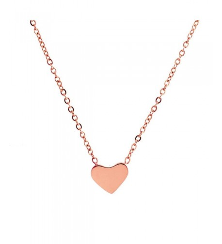 Lureme Minimal Stainless Necklace 01003214