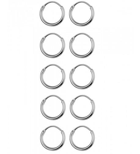 Thunaraz Stainless Earrings Cartilage Piercing