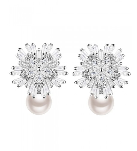 Earrings Exquisite Sterling Freshwater J Rose