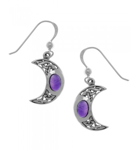 Jewelry Trends Sterling Crescent Earrings
