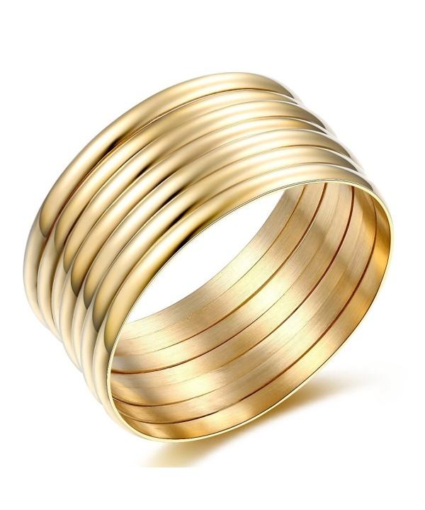 Carfeny Jewelry Polish Stacked Bracelets