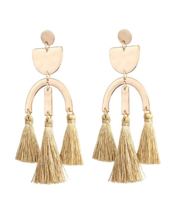 Boderier Earrings Geometric Creative Chandelier