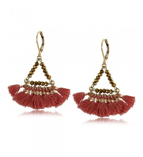 SHASHI Lilu Red Drop Earrings