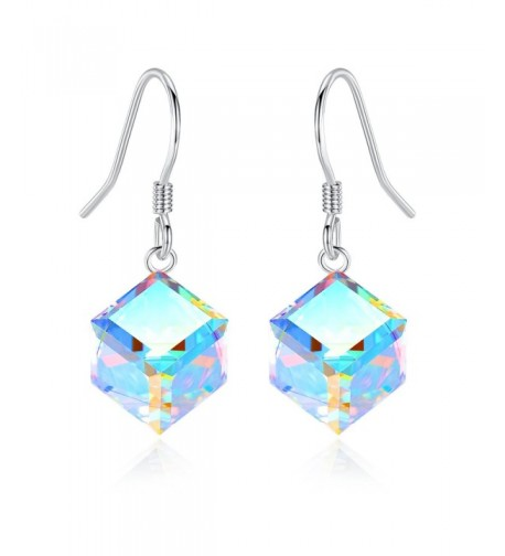 EleShow Sterling Earrings Swarovski Color Changing