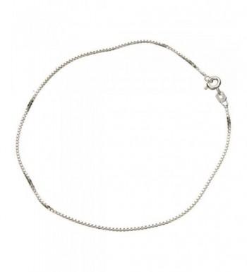 Sterling Silver 1 1mm Nickel Anklet