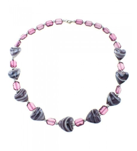 Fashion Necklace Plastic Heart Jewelry
