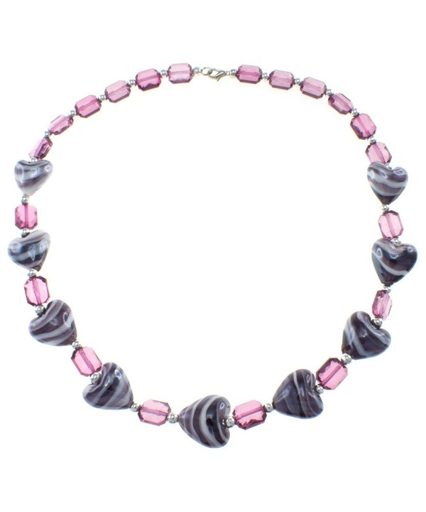 Fashion Necklace Plastic Heart Jewelry