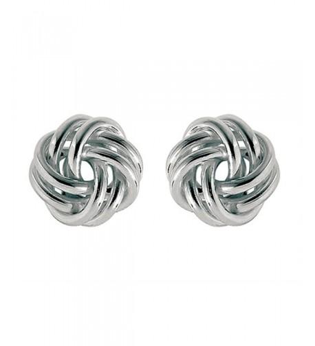Finejewelers Sterling Silver Love Earrings