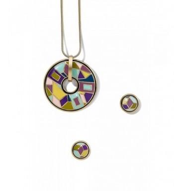 Pierced Earrings Necklace Pendant geometric