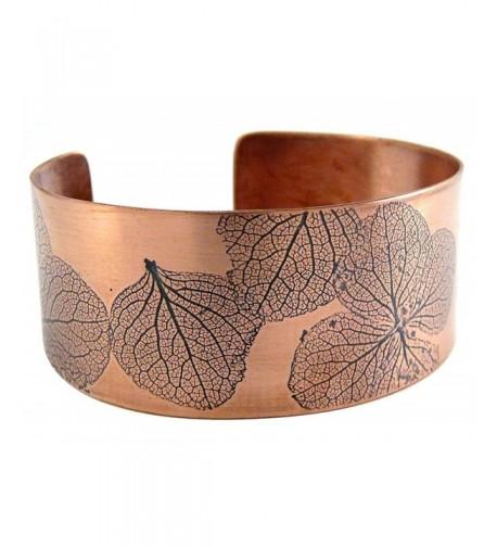 Handmade Bracelet Natural Hydrangea Impression