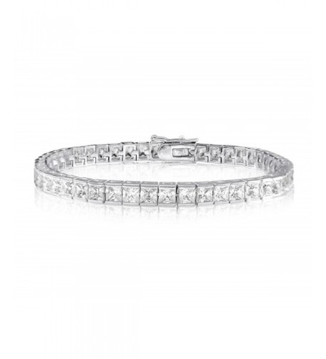 CARATS PRINCESS SIMULATED DIAMOND BRACELET