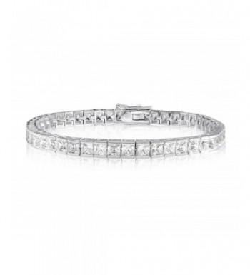 CARATS PRINCESS SIMULATED DIAMOND BRACELET