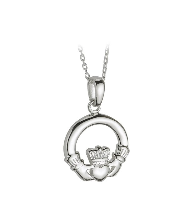 Claddagh Necklace Sterling Silver Ireland