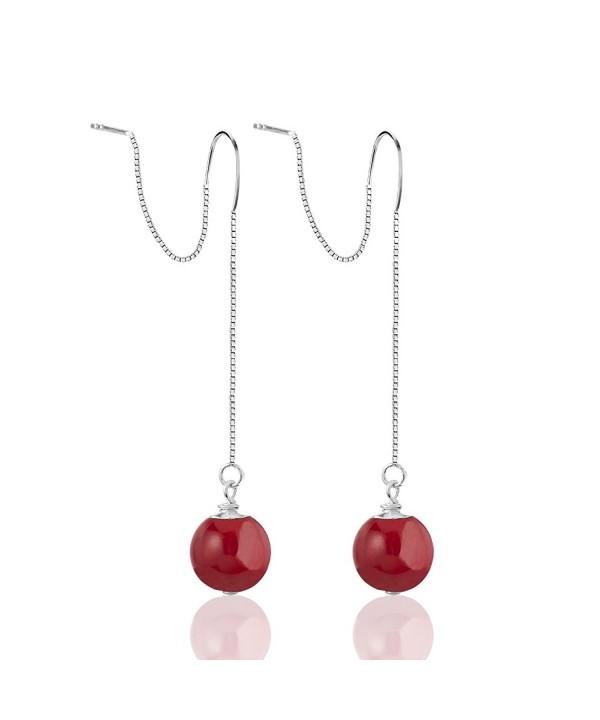 Sterling Silver Minimalist Threader Earrings