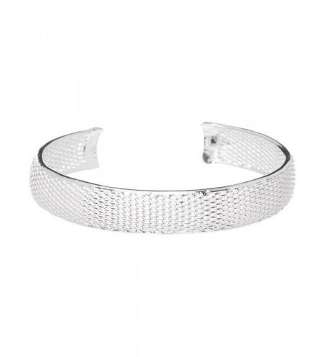 Mariah Bracelet Bangle Sterling Adjustable
