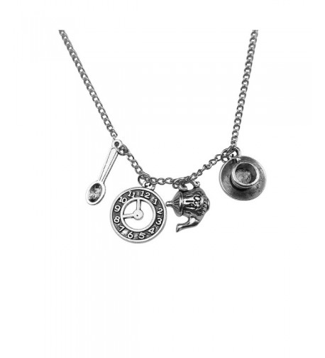 Art Attack Silvertone Wonderland Necklace