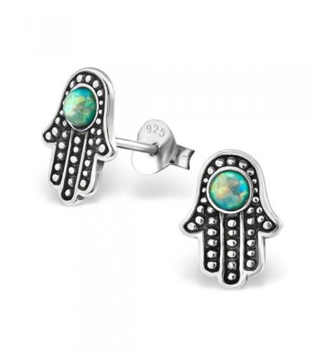 Atik Jewelry Silver Hamsa Created