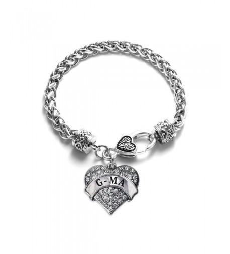 Classic Silver Crystal Bracelet Jewelry