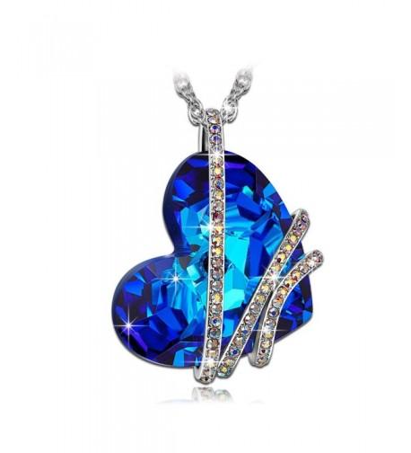 QIANSE Necklace Swarovski Crystals Necklaces