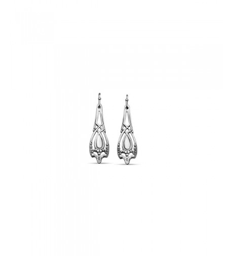 Silver Spoon Jewelry Demitasse Earrings