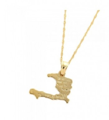 Necklace Pendants Gold Plated Jewelry