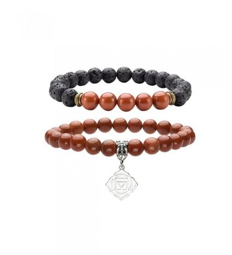 QGEM Healing Crystal Bracelet Meditation Muladhara