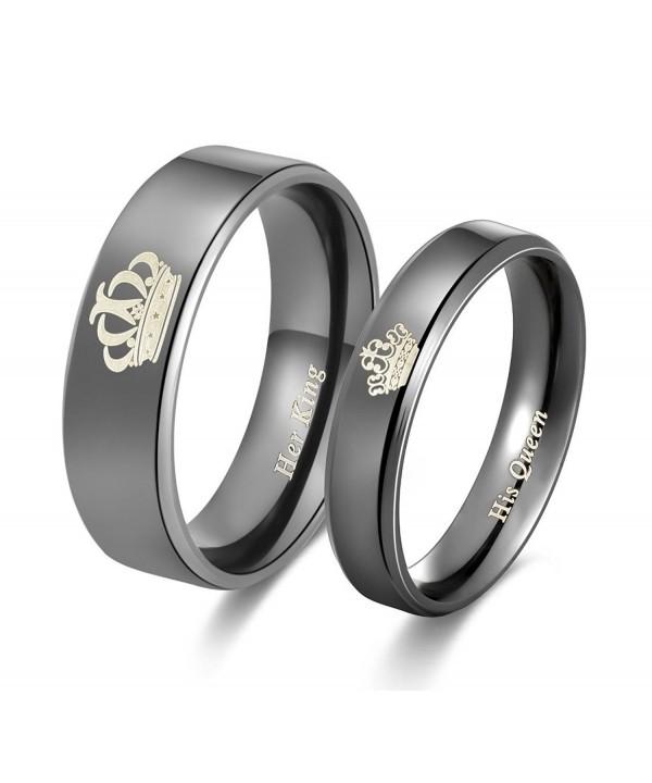 Amazing Titanium Stainless Anniversary Engagement