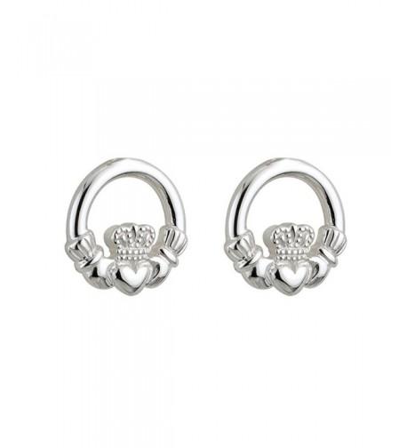 Little Earrings Silver Claddagh Ireland