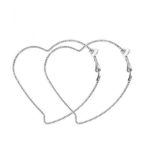 Fashion Heart Silver Earrings RareLove