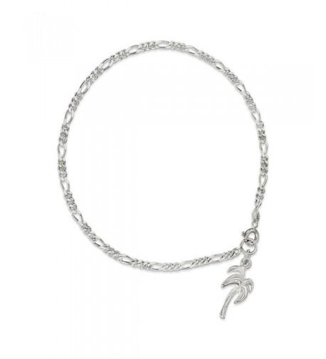 Sterling Silver 10inch Polished Anklet