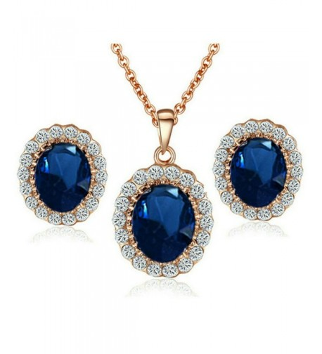 Yoursfs Sapphire Jewelry Middleton Necklace