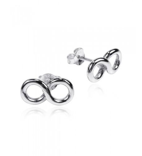 Endless Infinity Symbol Sterling Earrings