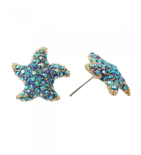 Navachi Plated Crystal Az2061s Earrings