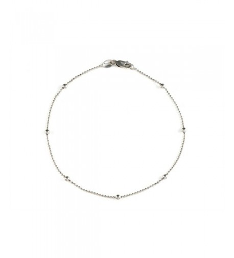 Finejewelers Inches Bracelet Sterling Silver