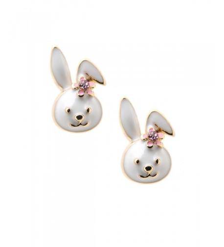 Spinningdaisy Plated Little Smiling Earrings