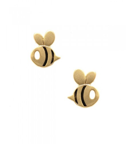 Spinningdaisy Finish Flying Bumble Earrings