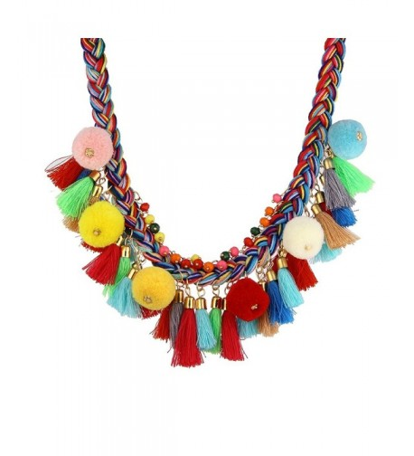 Bohemian Handmade Colorful Statement nl005628