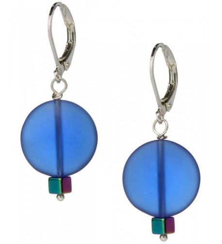 Ocean Earrings Handmade Jewelry Swarovski