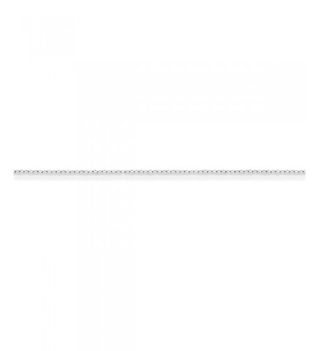 Sterling Silver Cable Chain Length