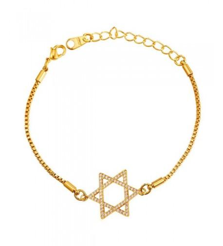 David Plated Bracelet Jewish Jewelry