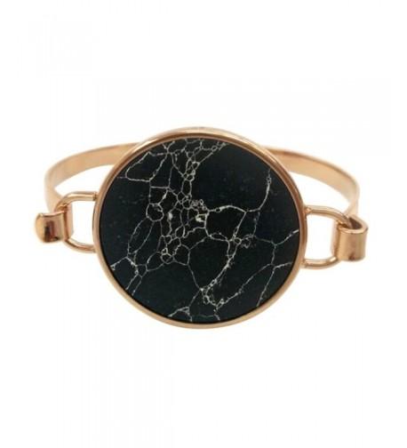 Mamona Marble Plated Bangle Bracelet