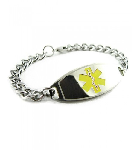 MyIDDr Pre Engraved Customized Patient Bracelet