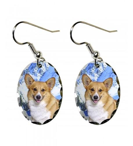Canine Designs Pembroke Scalloped Earrings