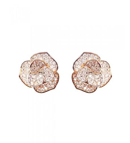 EVERU Fashion Jewelry Flower Earrings